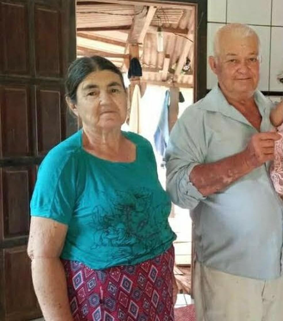Dona Maria e Seu João, vítimas da Covid-19 em Rondônia  — Foto: Reprodução/Redes Sociais