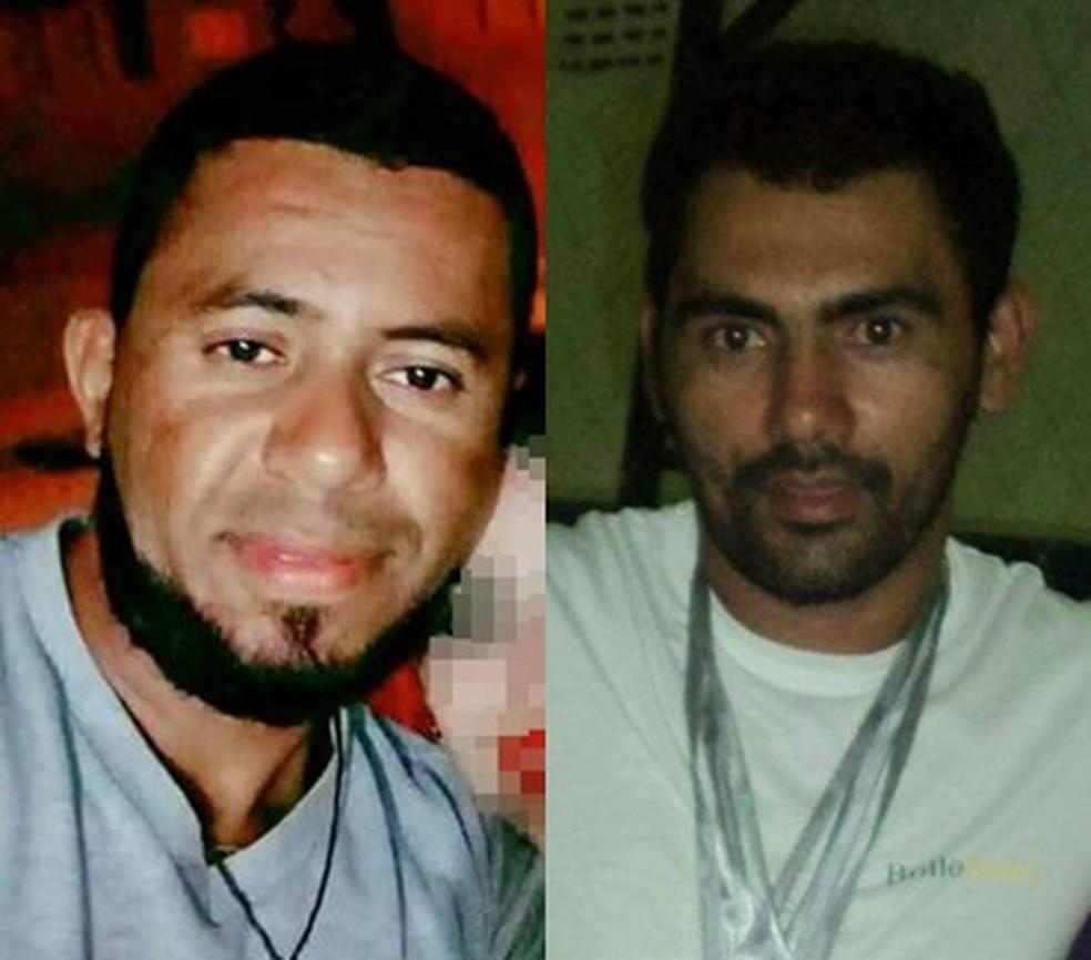 Jonas Eleotério e João Adelino foram atingidos pelo desmoronamento da mina em Bodó, RN, 22/08/2018  (Foto: Divulgação/Facebook)