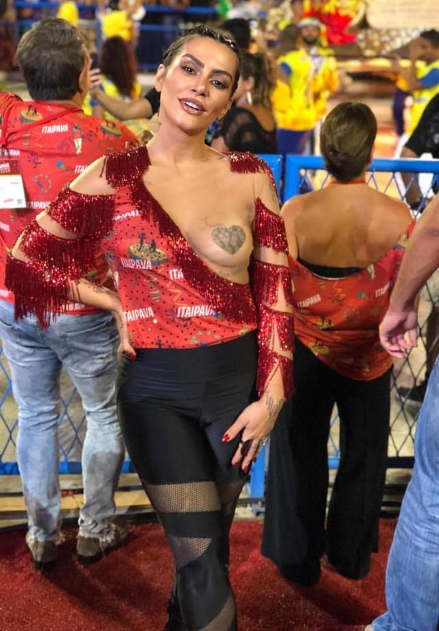 Cleo no Carnaval (Foto: reprodução/Instagram)