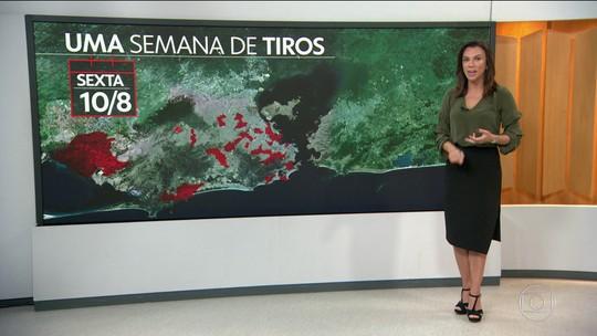 Violência no Rio está espalhada em todas as regiões