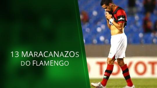 """Veja 13 """"maracanazos"""" do Fla, antes da eliminação para o Athletico-PR na Copa do Brasil"""