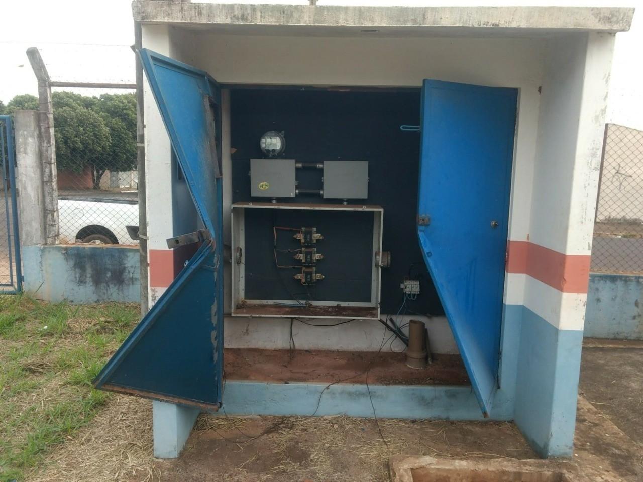Furto de fios em reservatório prejudica abastecimento de água em Bauru