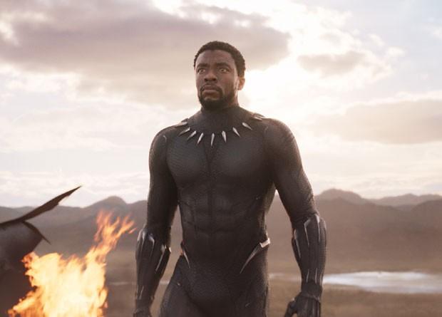 Chadwick Boseman, o Pantera Negra (Foto: Divulgação/Disney)