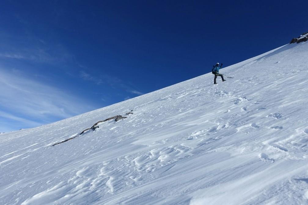 Bruno Reis afirma que subir uma montanha é um esporte de alto risco. (Foto: Arquivo Pessoal)