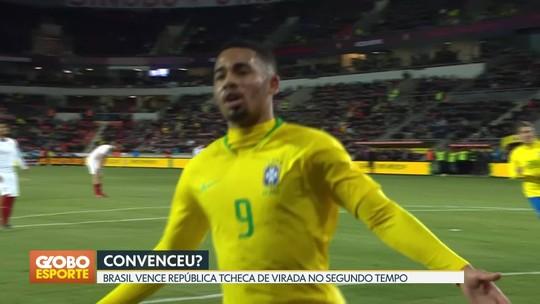 Seleção Brasileira vence a República Tcheca