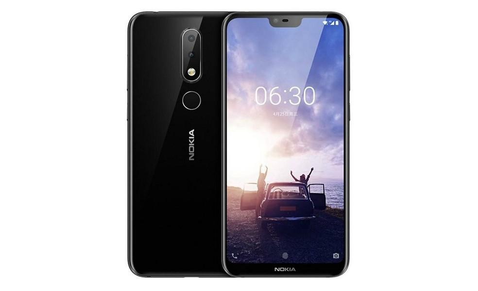 Nokia X6 tem leitor de impressões digitais na parte traseira e reconhecimento facil através da câmera frontal (Foto: Divulgação/Nokia)