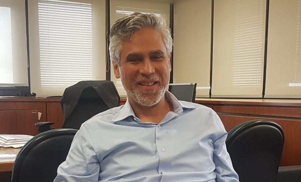 Diretor de Organização do Sistema Financeiro do BC, João Manoel Pinho de Mello — Foto: Alexandro Martello / G1