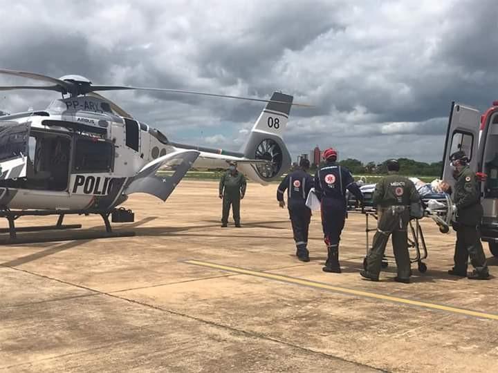Delegado da Polícia Civil do Ceará vítima de acidente no RN é transferido para hospital particular em Fortaleza