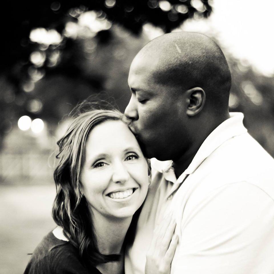 Christy e o marido Mike (Foto: Arquivo Pessoal)