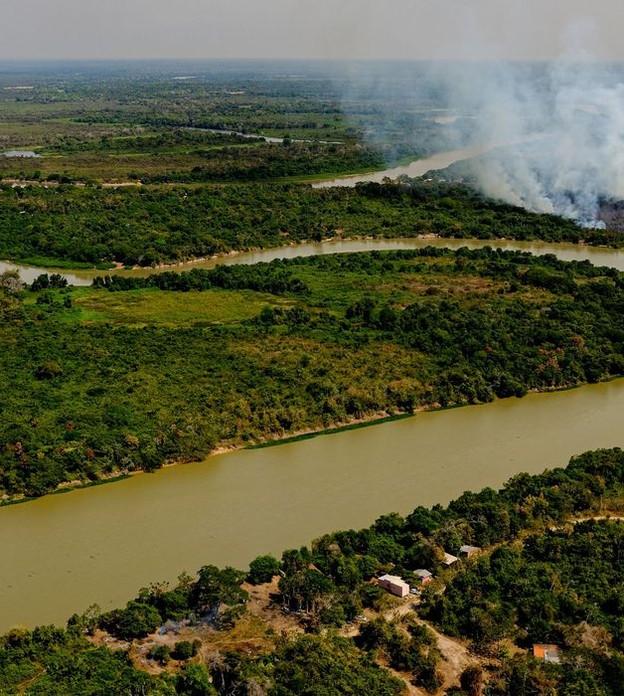 Justiça bloqueia quatro fazendas no Pantanal por desmatamento ilegal