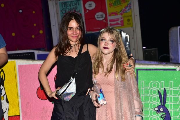 Alessandra Negrini e a filha Betina