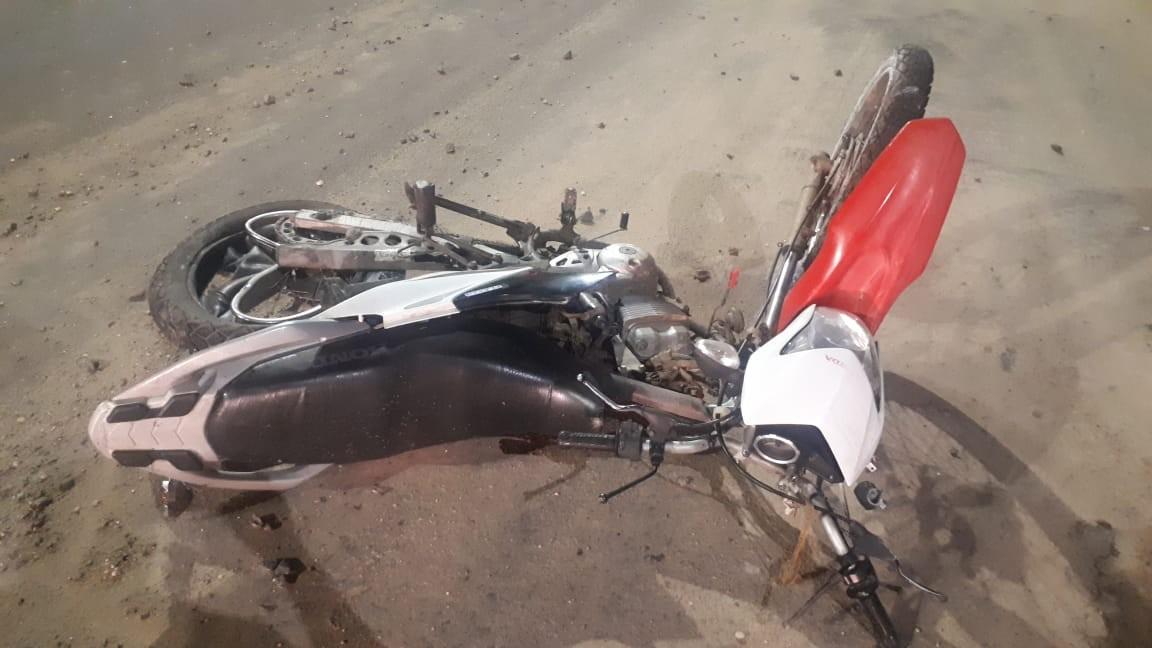 Colisão entre veículo e motocicleta deixa um morto em avenida no MA