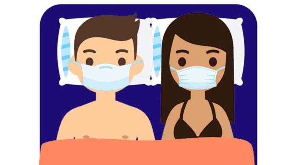 Não adianta usar máscaras na cama; especialistas respondem a perguntas sobre sexo e coronavírus — Foto: Getty Images/ BBC