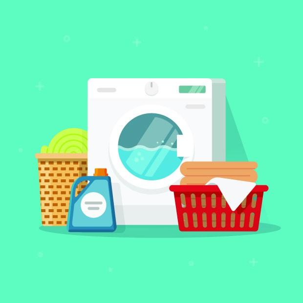 Ilustração de Máquina de Lavar Roupa (Foto: Thinkstock)