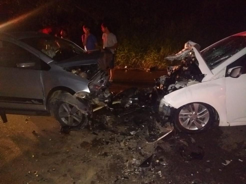 Colisão entre carros deixa um morto e feridos no interior de Alagoas â?? Foto: CBM-AL/Divulgação