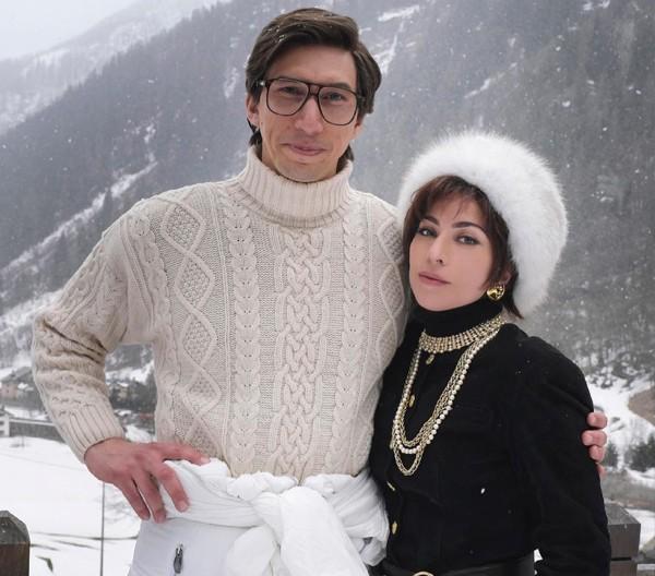 Adam Driver e Lady Gaga em House of Gucci (Foto: reprodução)