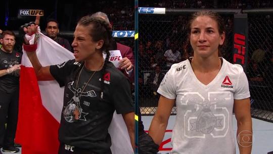 Joanna Jedrzejczyk domina Tecia Torres no UFC Calgary e volta à coluna de vitórias
