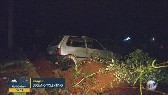 Quatro menores suspeitos de furtar carro são apreendidos após perseguição em Jardinópolis, SP