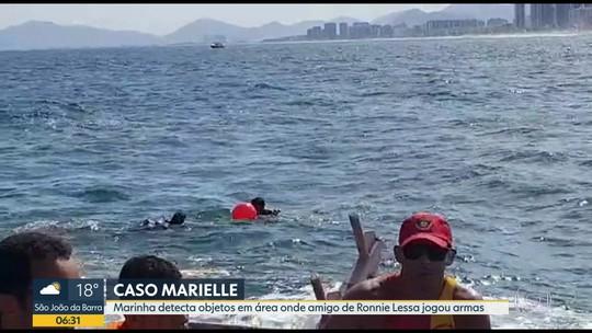 Caso Marielle: Marinha vai fazer mais buscas no mar à procura de armas