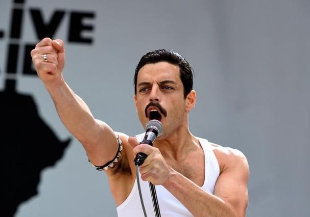 Rami Malek em Bohemian Rhapsody (Foto: Divulgação)