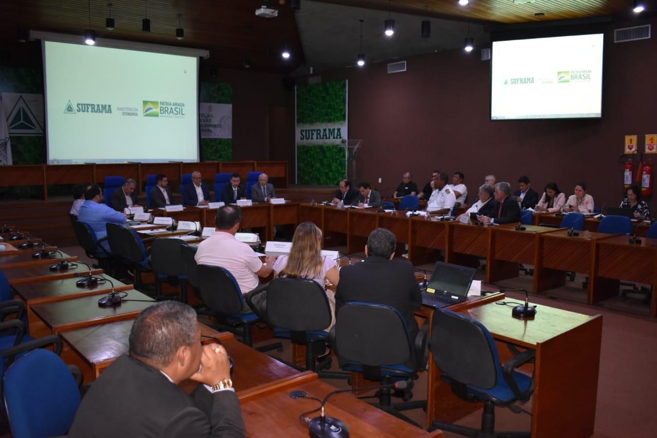 Reunião na Suframa discute interligação logística e comercial Paita-Manaus - Notícias - Plantão Diário