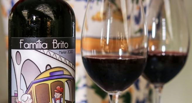 O Merlot Família Brito será brinde na celebração do dia dos avós do Juliette