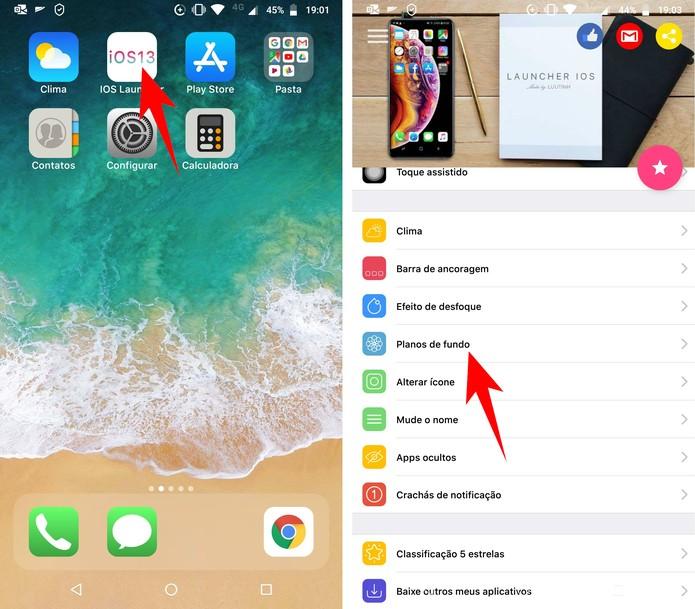 Como deixar o celular Android com aparência 'igual' ao iOS