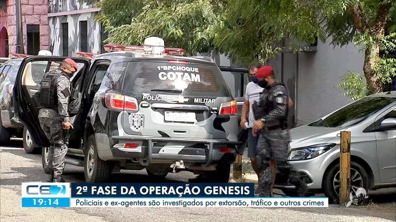 Operação Gênesis: POLICIAIS E EX-AGENTES SÃO INVESTIGADOS POR EXTORSÃO, TRÁFICO E OUTROS