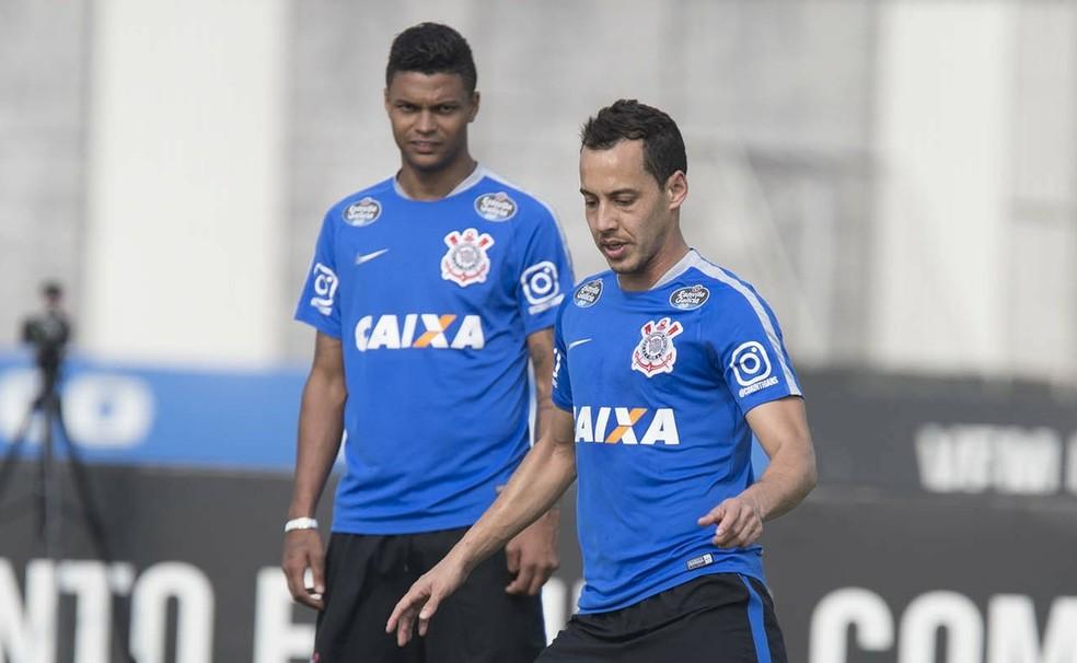 Bruno Paulo foi companheiro de Rodriguinho no Corinthians — Foto: Daniel Augusto Jr./Agência Corinthians