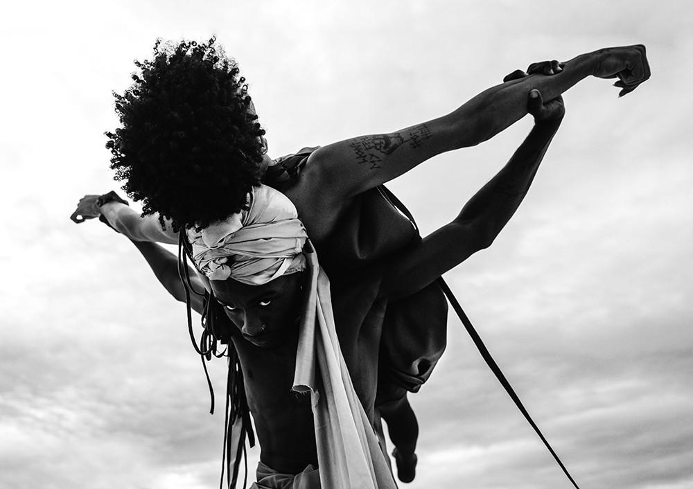 Ensaio Afrocentrípeta, vencedor do prêmio National Awards, do Sony World Photography Awards (Foto: Matheus L8)