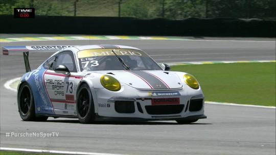Última volta da Porsche Carrera Cut 3.8 na etapa de Interlagos, 17 de Novembro.