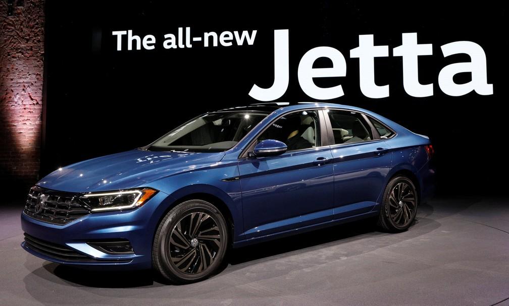 Novo Volkswagen Jetta estreia em Detroit (Foto: Brendan McDermid/Reuters)