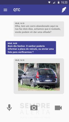 Sempre Alerta, aplicativo que liga o cidadão a autoridades para informar e coibir crimes nas cidades (Foto: Divulgação)