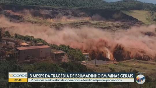 Após três meses da tragédia de Brumadinho, 37 pessoas ainda estão desaparecidas