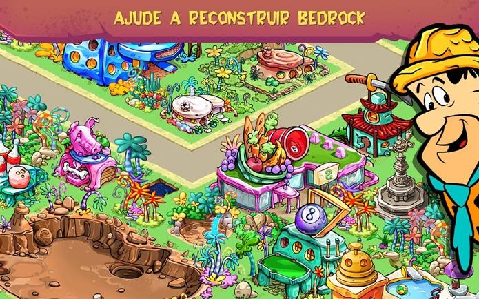 Game dos Flintstones já está disponível no Android (Foto: Divulgação)