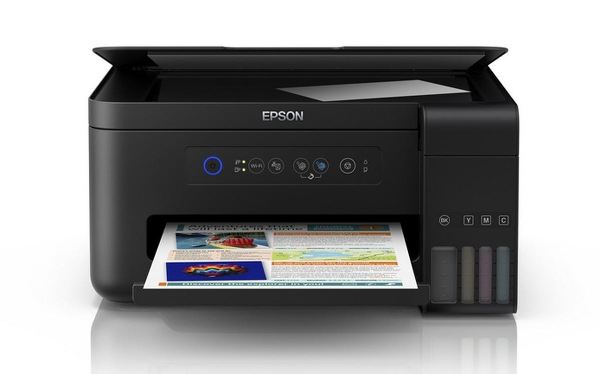 Epson L4150 E L4160 Chegam Com Novo Design E Imprimem At 233