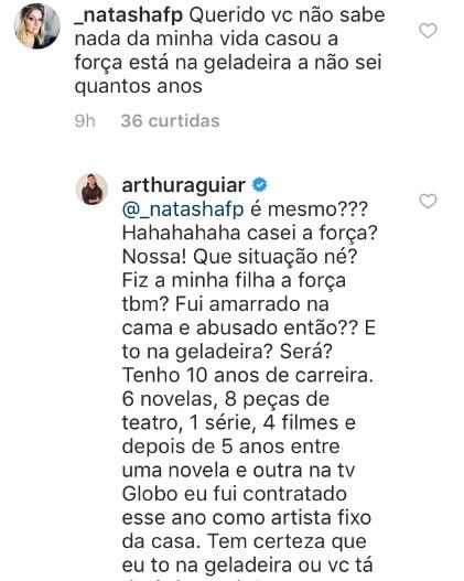 Instagram de Arthur Aguiar  (Foto: Reprodução Instagram)