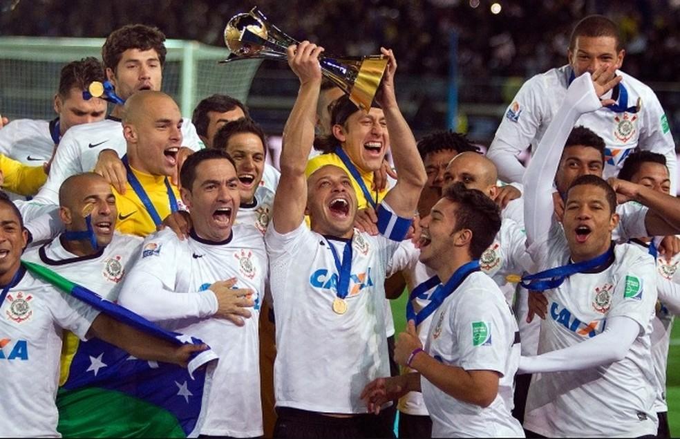 Corinthians foi campeão mundial em 2012 â?? Foto: Daniel Augusto Jr/ Agência Corinthians
