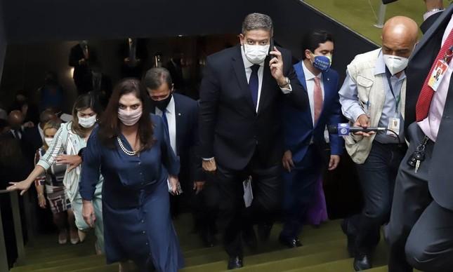 Arthur Lira, presidente da Câmara: esforço frustrado pela PEC da Imunidade