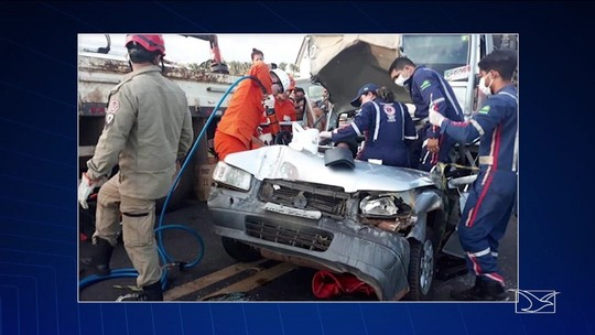 Acidente na BR-316 deixa cinco pessoas feridas no Maranhão