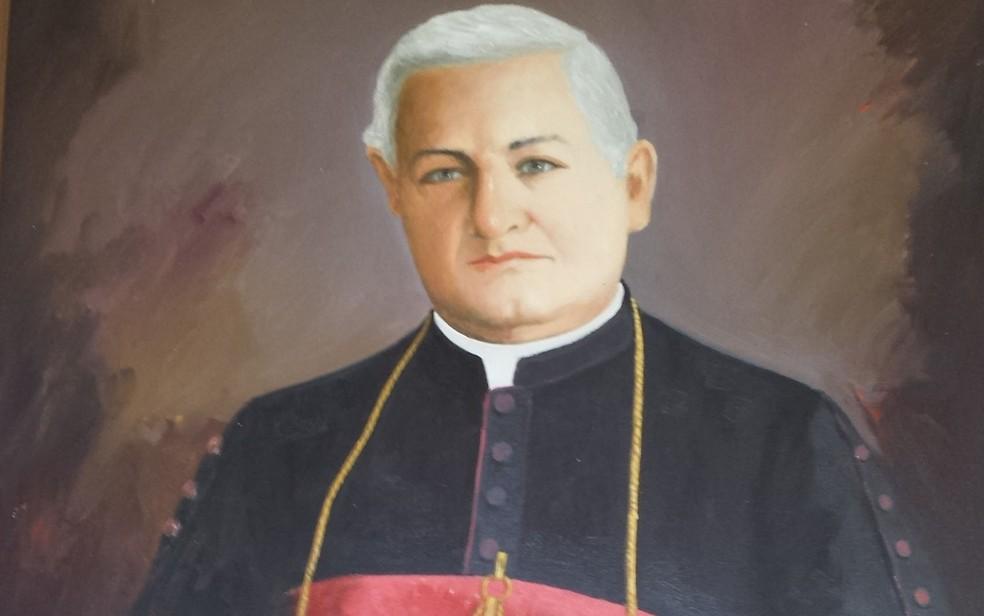 Bispo italiano Dom Malan foi o idealizador da catedral de Petrolina — Foto: Juliane Peixinho/ G1