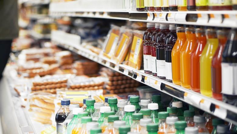 comida-produtos-refrigerados-geladeira-supermercado-bebidas (Foto: Getty Images)