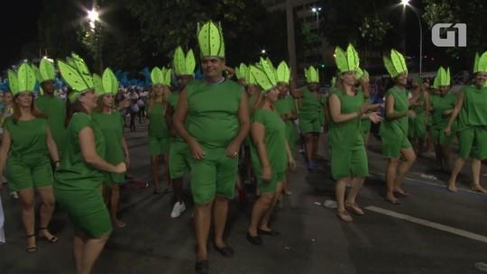 Caprichosos de Pilares: Desfile na Série A 2016