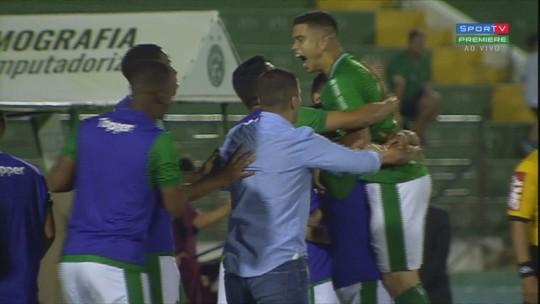 Guarani x CSA - Campeonato Brasileiro Série B 2018 - globoesporte.com