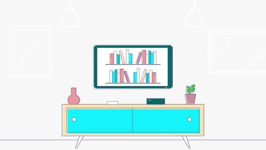 Assista a Esse Livro: projeto muda o modo como as pessoas leem livros e assistem TV