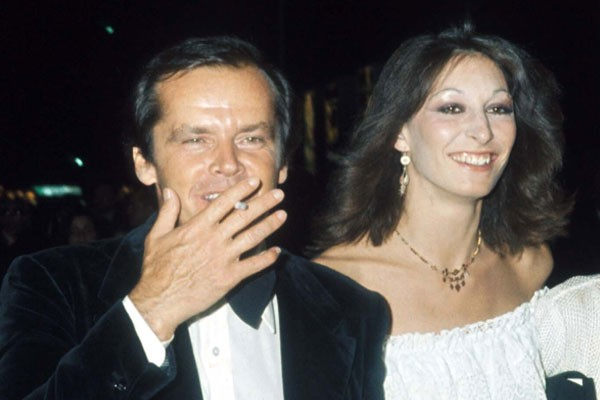 Jack Nicholson e Angelica Houston (Foto: Getty Images)
