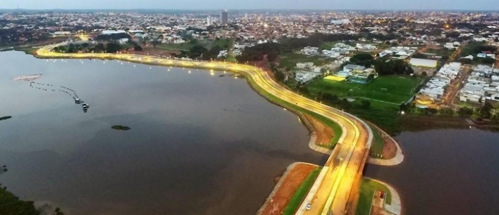 Complexo deve ser construído na Via Lago, um dos cartões postais de Araguaína — Foto: Ascom/Prefeitura de Araguaína/Divulgação