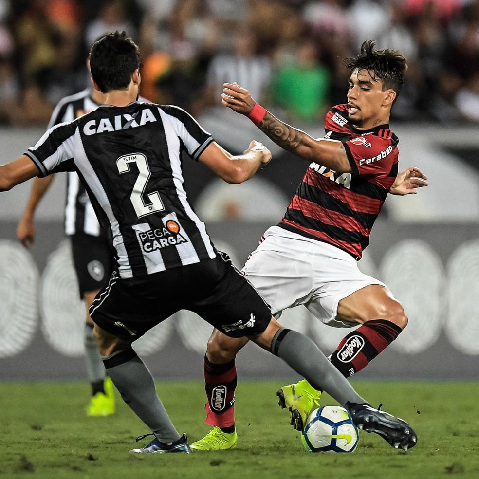 Saída de Paquetá para o Milan é uma das únicas certezas do Flamengo para 2019 — Foto: Jorge R Jorge/BP Filmes