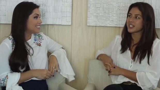 Thais Fersoza e Yanna Lavigne (Foto: Reprodução/Youtube)