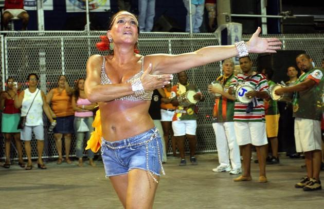 Susana Vieira, para a Grande Rio (2006) (Foto: Arquivo O Globo)